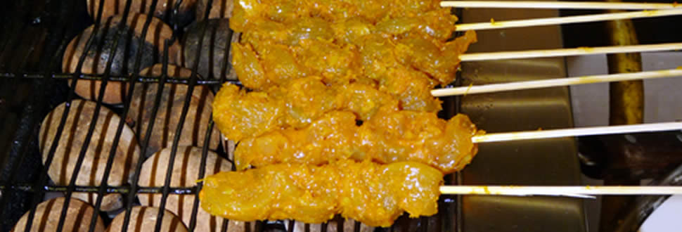 satay chicken h